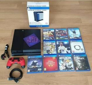 PlayStation 4 1 Pad 10 Games