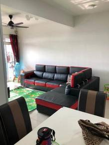 3FREEHOLD 1124sf 3 Rooms 2 Carparks Nego VR 2 condo Sek 22 Shah Alam