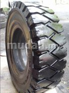 Second-hand solid forklift tyre