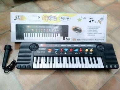 Music Fairy 37 Keys Electronic Keyboard (MQ-3700)