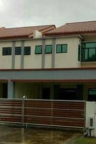 New terrace house at Hung Hung Garden, Jalan Sibiew
