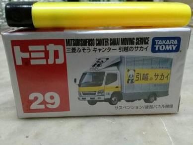 119 Tomica mitsubishifuso not hotwheels