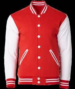 Varsity jacket colour red crj1101