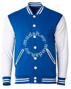 VARSITY Jacket colour ROYAL BLUE WHITE CRJ1103