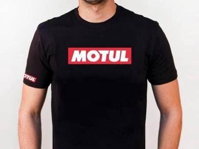 Baju T-Shirt MOTUL NSQ174 siap poslaju