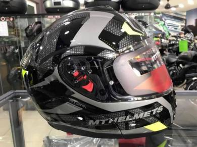 MT Flip Up Helmet Graphic ( Spain Technology )