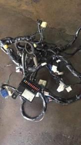 Complete wiring lampu satria neo 1.6(a)