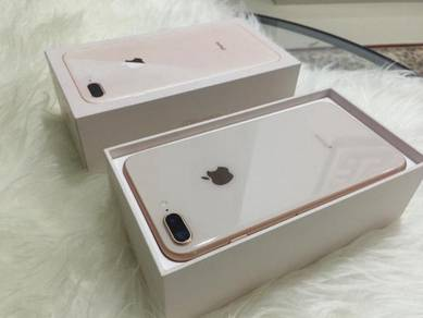 Iphone 8 plus 64gb original gold myset
