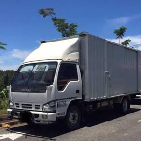 Isuzu 3tons box container lorry