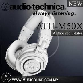 Audio-Technica ATH-M50x Headphone White (M50x)