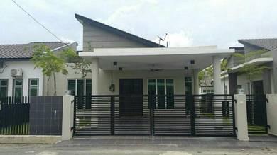 Single Storey Semi-D (Fully Renovated) di Kuantan
