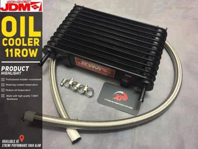 Gearbox OIL COOLER AUTO JDM 11 RoW BRAIDED HOSE