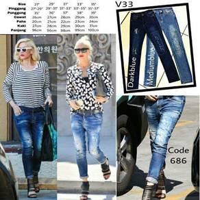 Jeans regular saiz