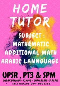 Home tutor services