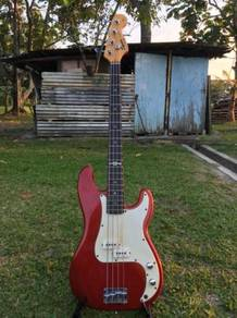 Squier By Fender Bass Guitar