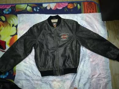 Harley Davidson Leather Motocycle Jacket Saiz L