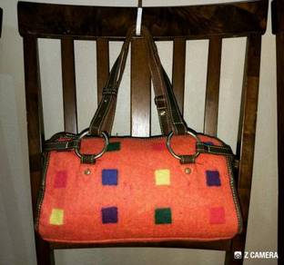 Tote Bag Wool SAZABY