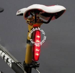 Bicycle LED Tail Light - 7 Flashing Modes