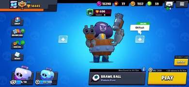Brawl Star 14500 trophy account