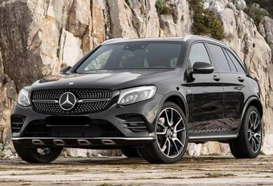 Mercedes Benz GLC Grille X253 GLC diamond grille