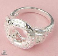 ABRS9-F002 Women Fashion Jewelry Silver 925 Ring