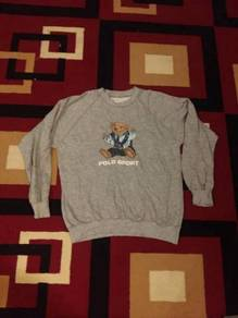 Sweatshirt polo sport bear