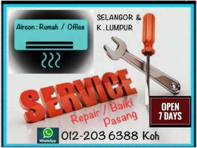 Aircon Pro Aircond KL/SEL- Seputeh & others