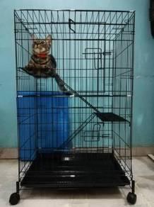 304D 8022L Sangkar kucing Cat Cage 23.5