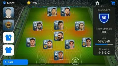PES 2019 Android Account