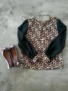 Top Blouse - Leopard