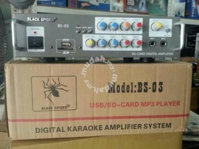Amplifier Black Spider