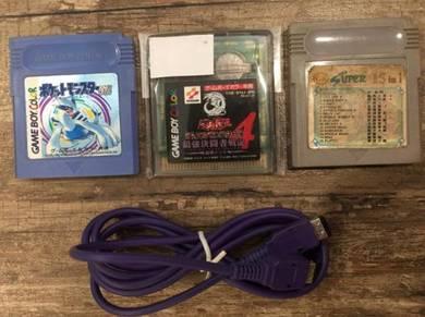 Gameboy Advance Color gbc gb Nintendo Game Link