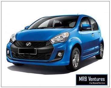 Perodua MyVi for rent