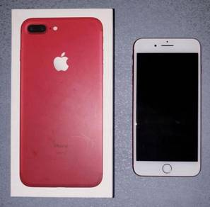 IPhone 7 Plus 256 Red Mint Condition