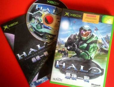 Dy Xbox original game 1st Halo Combat Evolved