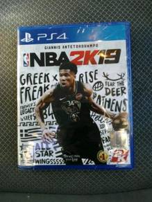 PS4 Game NBA 2K19 Used REGION 2
