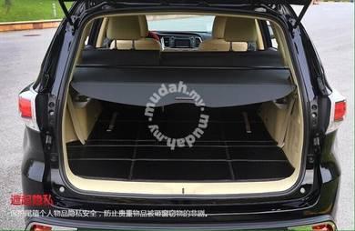 Toyota harrier xu60 trunk cargo boot cover