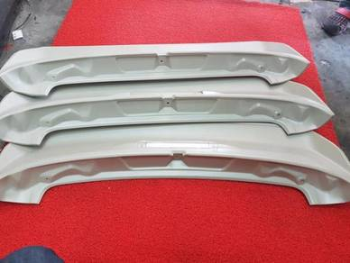 Toyota wish spoiler with brake lamp light ori abs