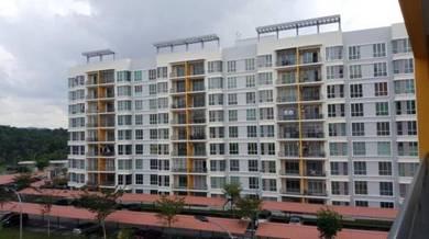Apartment garden villa taman bandar senawang