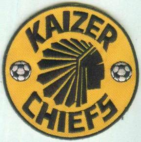 Kaizer Chiefs FC South Africa Football Patch