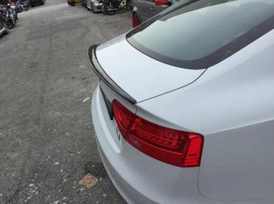 Audi A5 RS5 Carbon Fiber Spoiler For 4Door