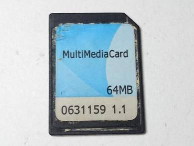 Original MMC 64Mb memory card