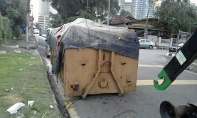 Bin disposal#Tong Sampah#Disposal service