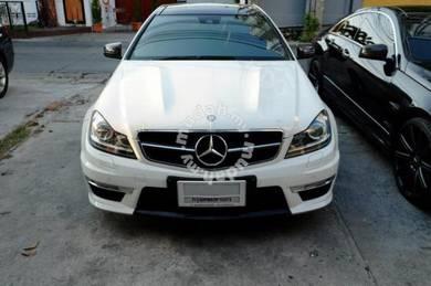 Mercedes benz w204 c63 bonnet amg bodykit hood