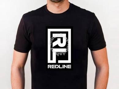 Tshirt Baju REDLINE II TSV siap poslaju