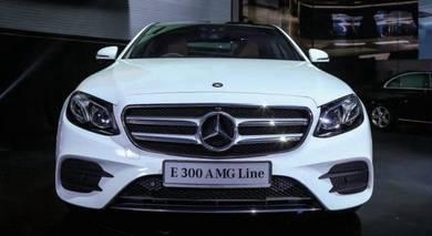 Mercedes W213 AMG LINE Bodykit