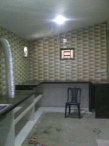 Pemasangan Tile, Kabinet dapur dan lain2