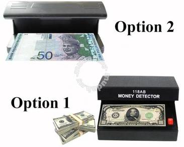 Fake Counterfeit Money Detector