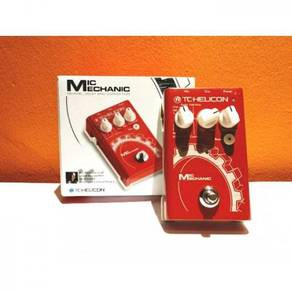 TC-Helicon Mic Mechanic Vocal Effects Pedal