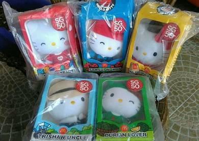 McDonalds hello kitty SG50 Mcd toys